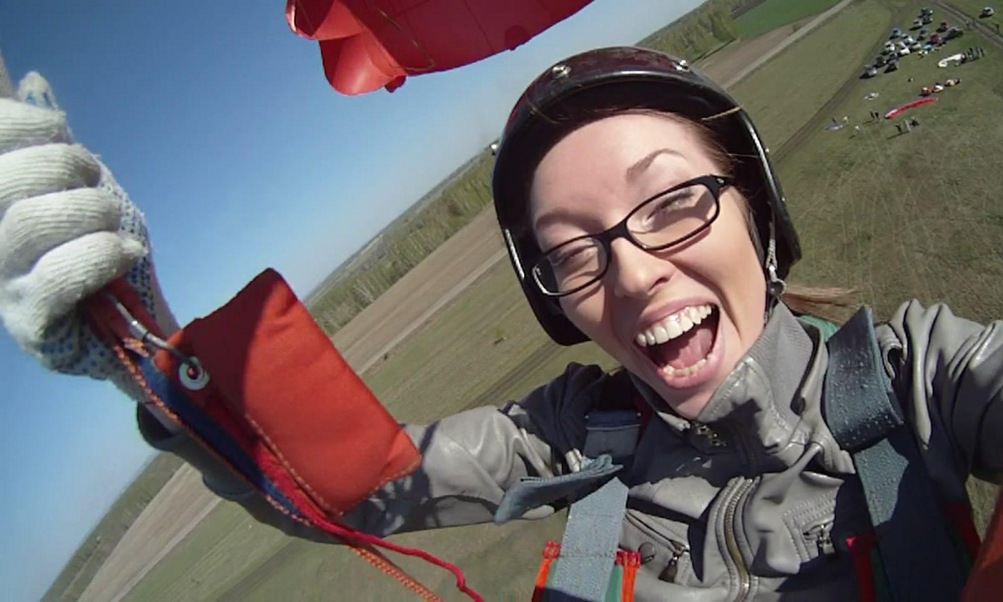 Полеты на парапланах и парашютах